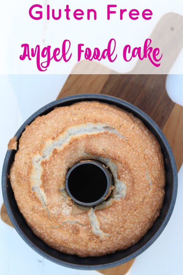 Gluten Free Angel Food Cake - oh my gosh, this is SOOO good! Can't wait for strawberry season!