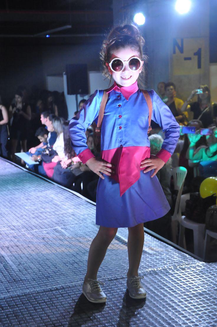 Pasarela Infantil UAM Manizales 2015 #modasuam   Estudiante: Irene Garcia