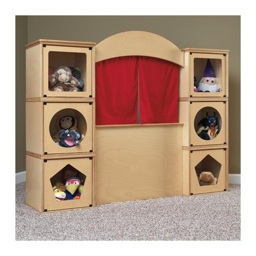 Jonti-Craft® RooMeez® Puppet Theater Collection  Childrens Dept.  Dramatic Play.