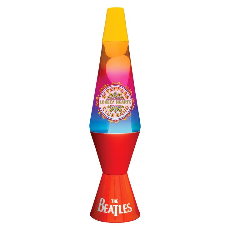 Lava Lite The Beatles Sgt. Peppers Lava Lamp,