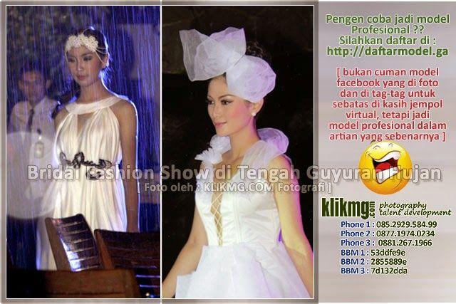 blog.klikmg.com - Rias Pengantin - Fotografi & Promosi Online : Bridal Fashion Show di Tengah Guyuran Hujan - Ingi...