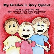Children's book about a child with apraxia by Amy May. This story is about a little boy named Reed who has a severe speech disorder called apraxia that makes his speech very difficult to understand. The story is told from Reed's sister's point of view who understands his challenges and triumphs. The story portrays the many things Reed can do with his peers despite his inability to speak to them.  This story teaches young children about acceptance in a developmentally appropriate way.