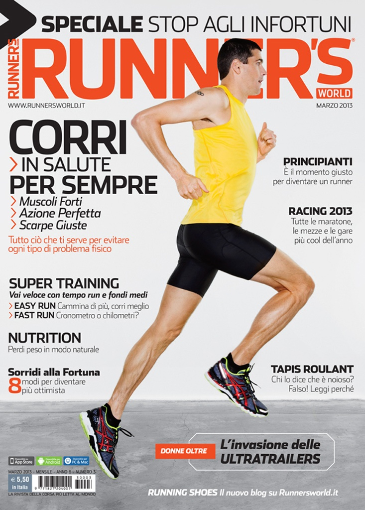 Runner's World Italia, Anno 8, Numero 3, Marzo 2013 - www.runnersworld.it