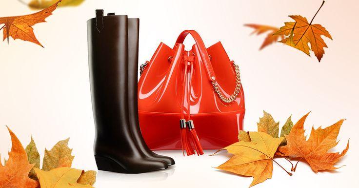 Grace K bag and Sofia boots | Fashion season