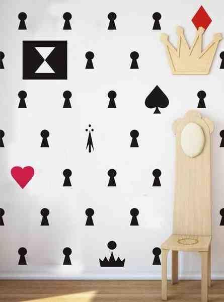 Tapeta Alicja - kolekcja Wonderland 1 - Sklep Toto Design