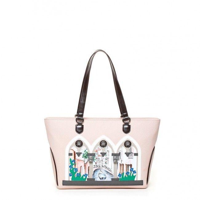 Borsa Braccialini shopper due manici Window B9293  #braccialini #borse #handbags #fashion #accessories