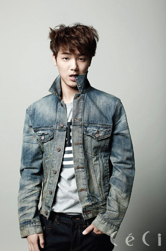 More of Kang Min Hyuk For CéCi's August 2014 Edition | Couch Kimchi