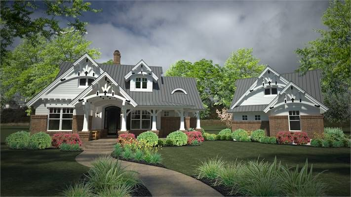 Belle Petite Ferme Beautiful Small Farmhouse Is A Brand New Version Of The Famed Stor Small Craftsman Style House Plans Craftsman House Plans New House Plans