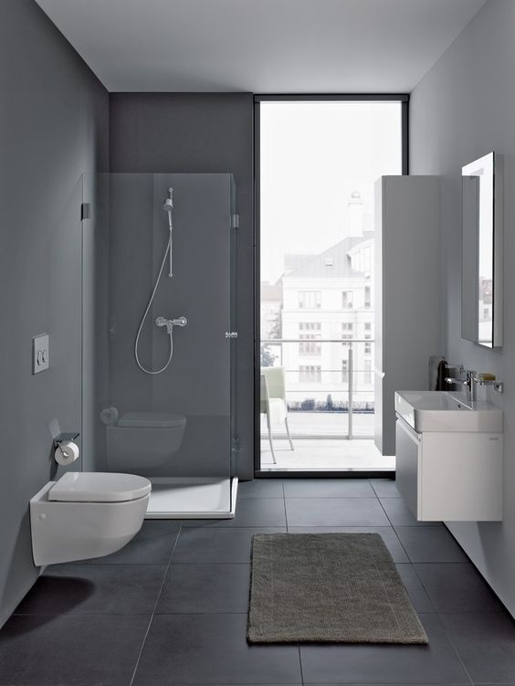 Modern, simple, sleek and stylish. Just the way your bathroom should be. @laufenbathrooms