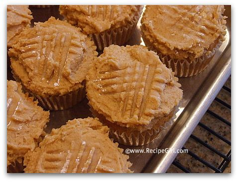 peanut butter cookie cupcakes!
