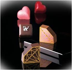松坂屋上野店のチョコレート展「ハッピーバレンタインフェア」のデザインフード