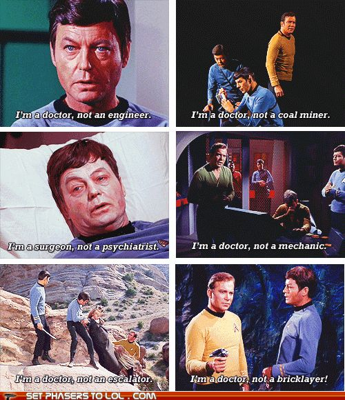 Irrational Bones is irrational. Especially around Spocks.