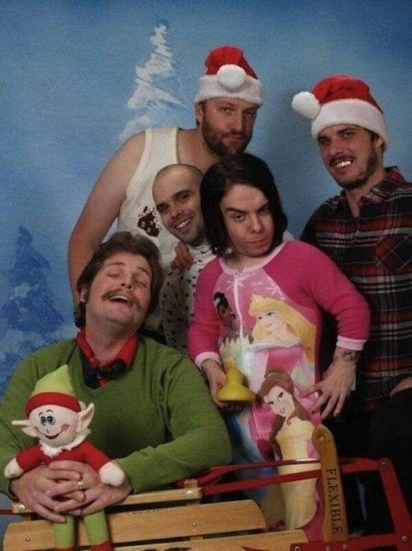 Imagenes De Funny Christmas Family Portraits