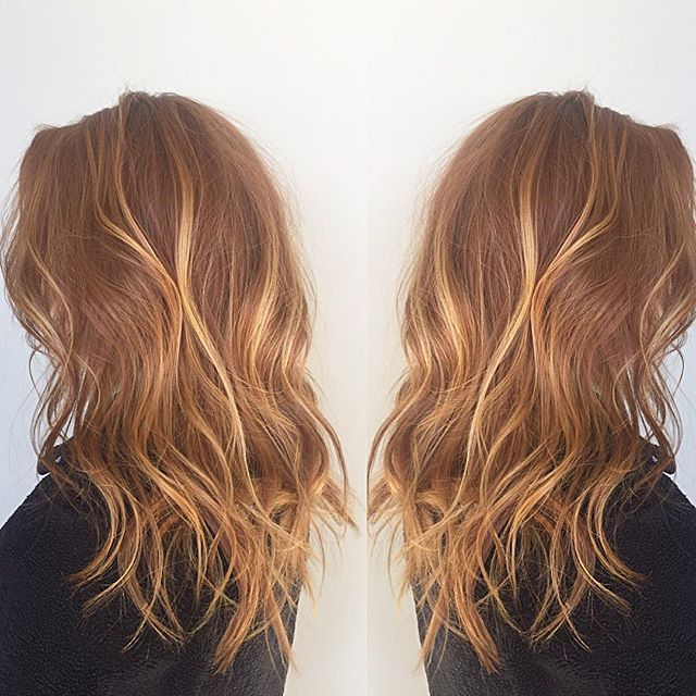 Natural Redhead balayage #Behindthechair #haircolor #hairbybradleyleake