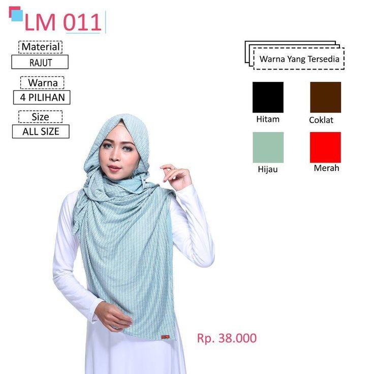 LM 011 Lamia Hijab - Kerudung Bergo Syar'i bahan kualitas premium, nyaman dipakai dan anti gerah. Material : Spandex. Size : All Size. #lamiahijab #hijabindonesia #kerudunginstan #bergo