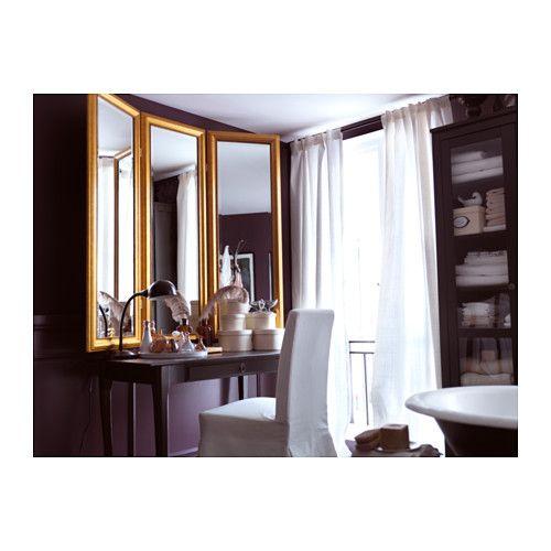 Les 25 meilleures id es concernant coiffeuse d angle sur for Miroir ikea stave