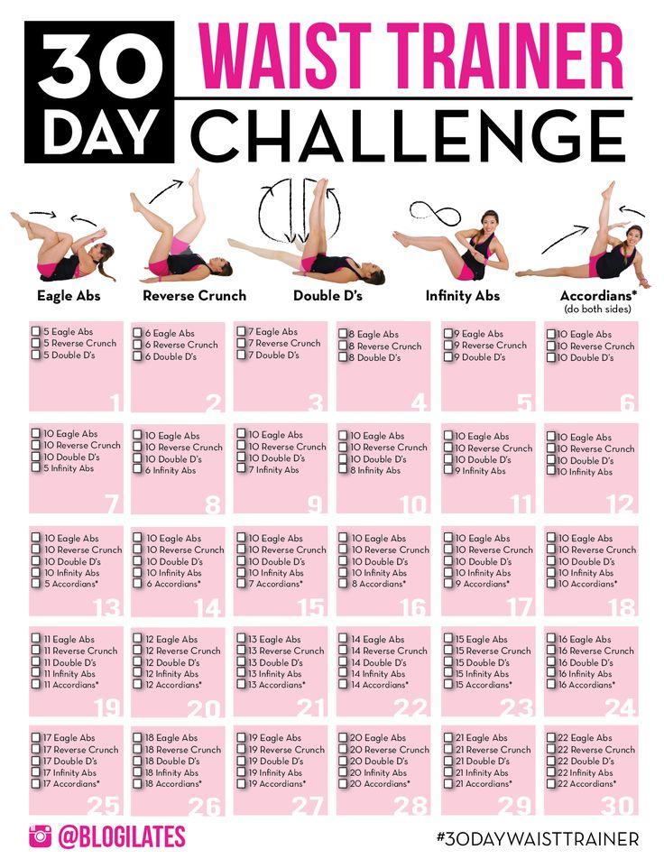 Cassey Ho's 30 Day Waist Trainer Challenge January 2016 #myyeartogrow #casseyHo #waistchallenge