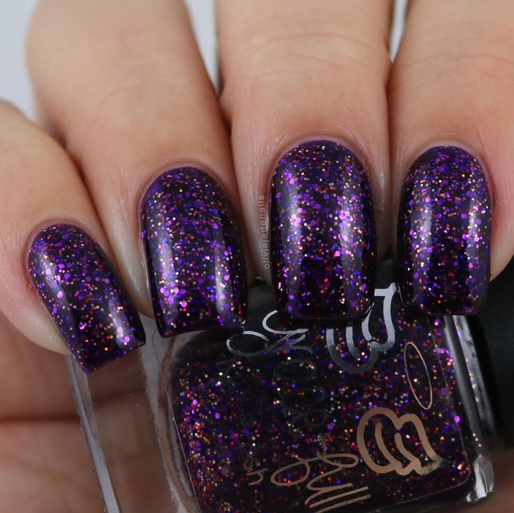 Grace-full Nail Polish Yes, Purple! swatched by Olivia Jade Nails