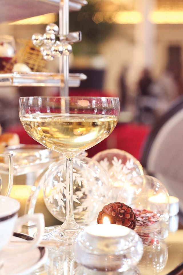 Add a wee sparkle to our Festive Afternoon Tea with a glass (or two!) of the perfectly chilled Pommery champagne