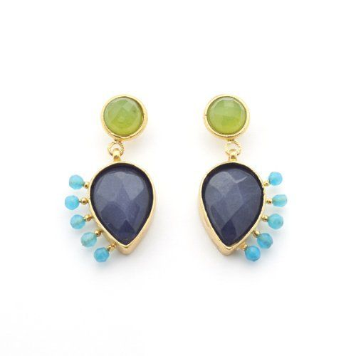 Handan II Earrings by Tiklari||RHFPR