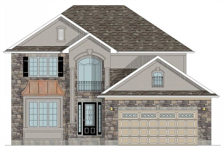 13 best house designs images on pinterest house design for Garage plans ontario