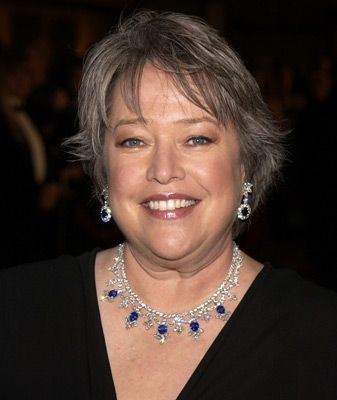 The veteran of this trio, Kathy Bates, was nominated for Supporting Actress In a Miniseries or Movie for the role Delphine LaLaurie in the FX television series American Horror Story. Description from headlinegrabber.org. I searched for this on bing.com/images