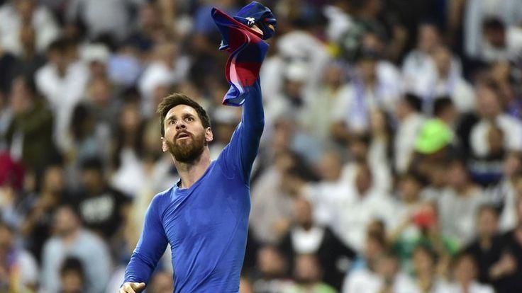 Lionel Messi emotional celebration at Bernabeu takes the negativity away