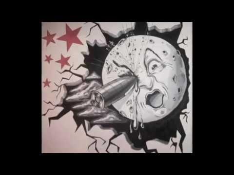 #mural viaje a la luna George Melies #artesanoamarillo