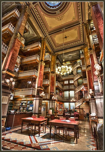 Iowa State Capitol - Law Library by w4nd3rl0st (InspiredinDesMoines), via Flickr