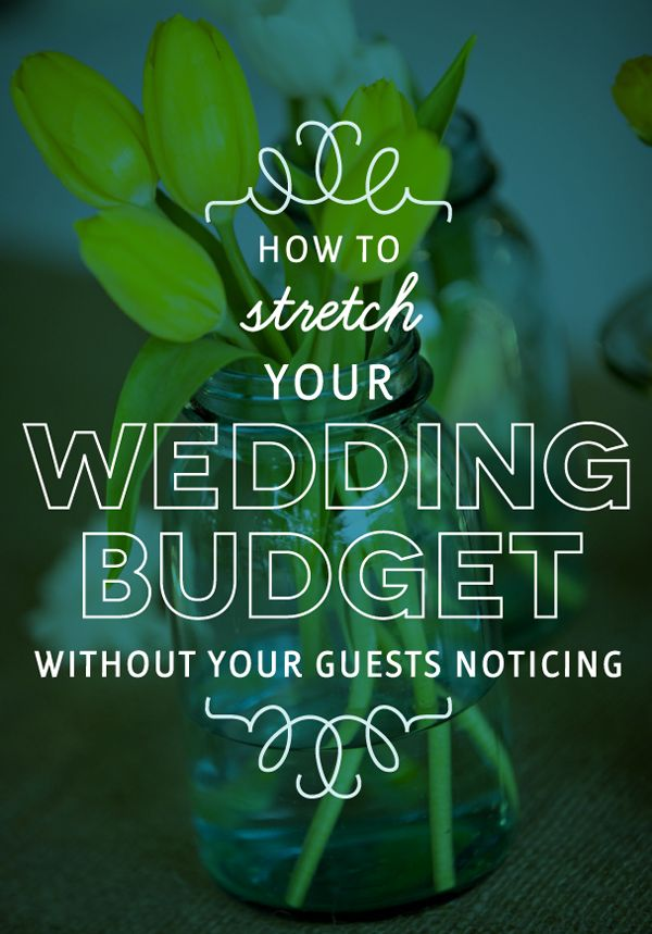 Ideas and tips for How To Stretch Your Wedding Budget from The Budget Savvy Bride and Australian Bride Magazine