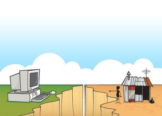 Resultado de imagen de brecha digital en el entorno rural