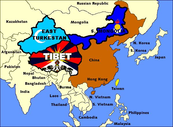 113 best unrecognized nations peoples images on pinterest maps the nations of east turkestan tibet south mongolia to be liberated from china should include the free states of taiwan hong kong macau guandong gumiabroncs Images
