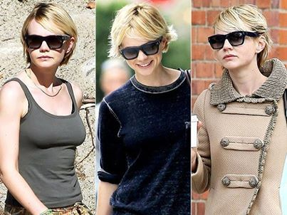 Carrey Mulligan in Celine eyewear. Cleanliness, strict colour palette, Celine revived the style of the modern woman: http://panaidis.gr/page/default.asp?id=23&la=1&ctID=2&mnfID=16  #carreymulligan #celine #style