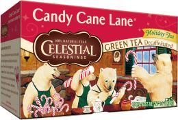 I am not a tea drinker but this tea is amazing.   Only in the stores at Christmas so stock up!