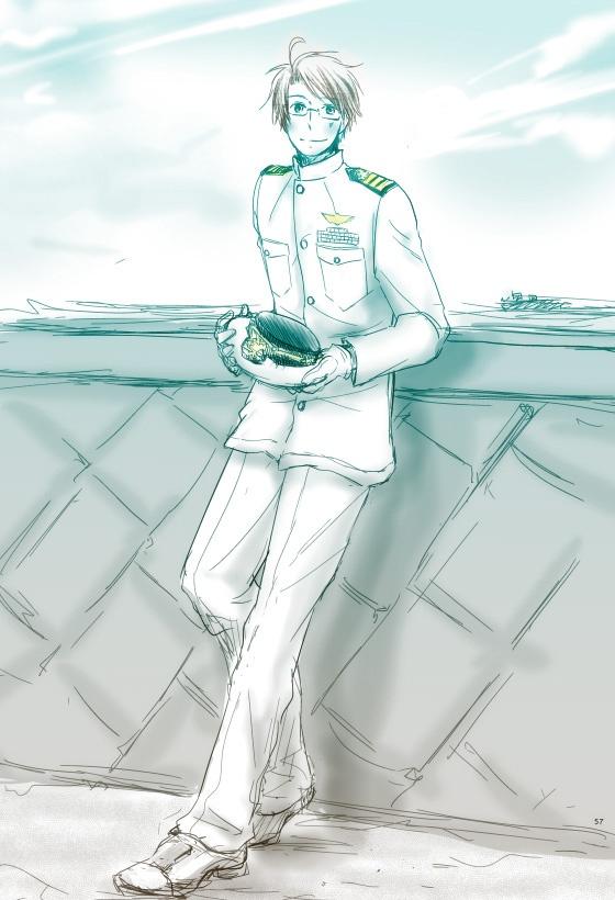 Navy by 鈴太- Hetalia - America / England…