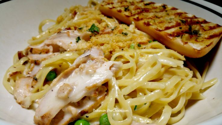 Corner Bakery  Chicken Carbonara