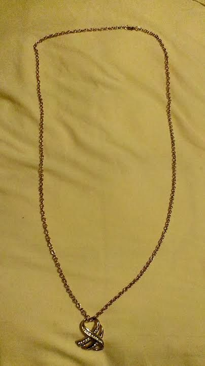 Long Gold Chain with Pendant Necklace by SustainableJewellry