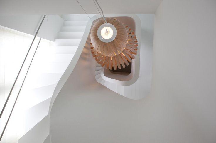Ontwerp trappenhuis metamorfose stadsvilla Breda
