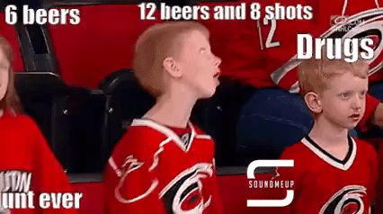 funny hockey gifs kids on drugs - Reaction GIFS and Best Funny GIFS