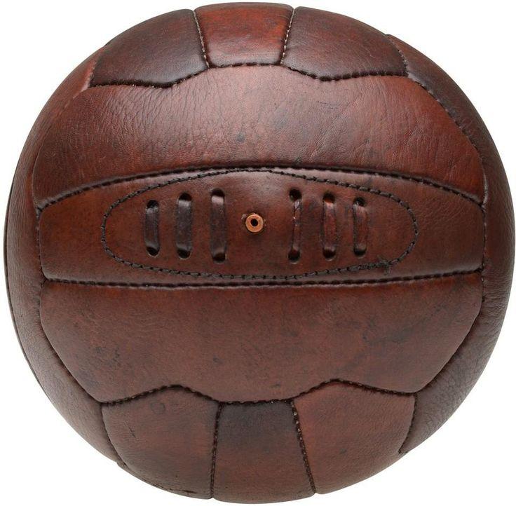 Vintage voetbal - 23,5cm - La Chaise Lonque