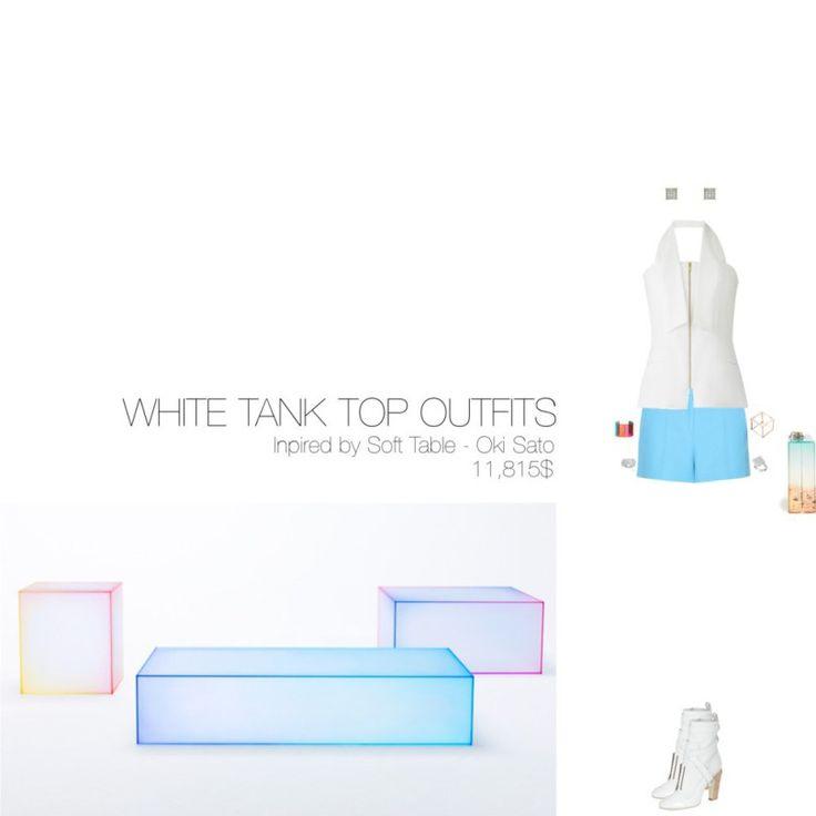 11,815$ White Tank Top #MostExpensiveOutfit ft. @Amanda_Wakeley @EmilioPucci @Fendi @charlottes_web @MaisonValentino @zangrando  @Chopard