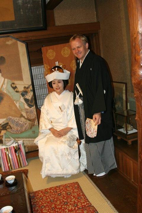My wedding in Japan.  @ Funabashi