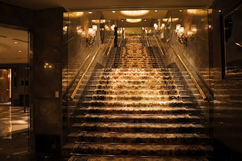 Taj Palace Hotel, The vision must be followed by the venture. It is not enough to stare up the steps - we must step up the stairs.