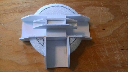 how to make a duel disk step by step