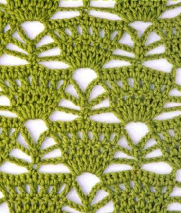 Puntos Calados para tejer a crochet patrones gráficos