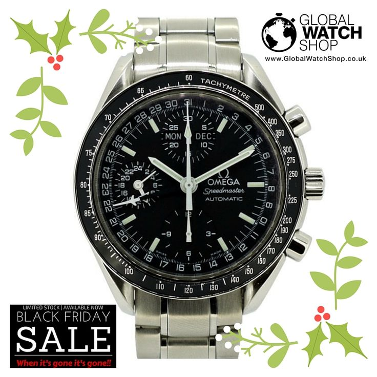 #BlackFriday  Omega Speedmaster Previous Price: £1,500 Now: £1,000 More at