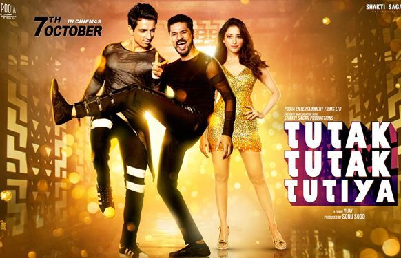 Tutak Tutak Tutiya Official Trailer | Prabhudeva | Sonu Sood | Tamannaah Latest Movie