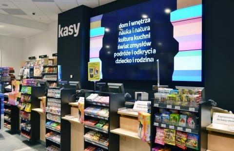 Z dumą prezentujemy Empik w warszawskim Blue City!  Salon zaprojektowany wg całkowicie nowego konceptu! Stworzony by inspirować i rozwijać Wasze zainteresowania! Zapraszamy :)