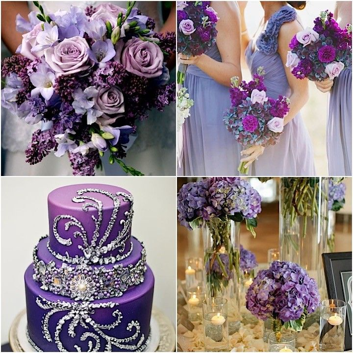 Purple Wedding Cake Ideas: 17+ Best Images About Purple Wedding Theme Ideas On