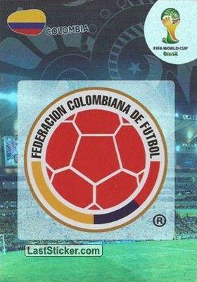 Card 76: Colombia - Panini FIFA World Cup Brazil 2014. Adrenalyn XL - laststicker.com